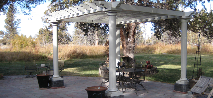 Custom Paver Patio With Pergola - Landon Construction